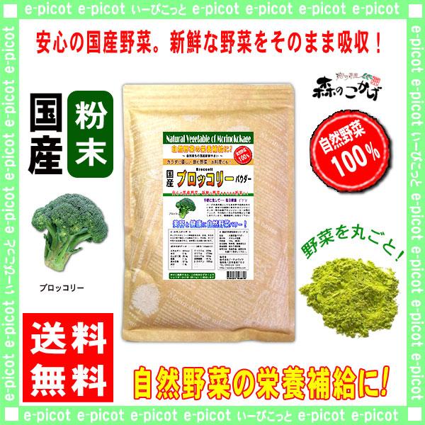 G1【送料無料】 国産 ブロッコリー 【粉末】 (300g) やさい パウダー 100% 野菜粉末 ぶろっこりー