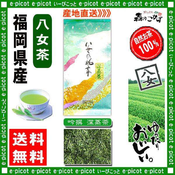 Y【送料無料】 吟撰 深蒸茶 (100g×2個セット)≪八女茶≫ ◇ 福岡県-日本茶 -厳選の緑茶
