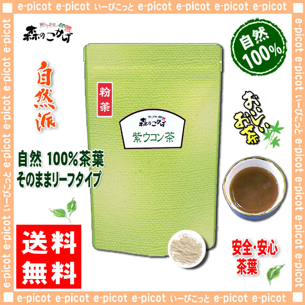 A1【送料無料】 ガジュツ茶 [紫ウコン] がじゅつ (200g 内容量変更)