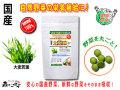 【送料無料】 国産 大麦若葉 (250mg×180粒) やさいのサプリメント まるごと 自然野菜 (オオムギ若葉)
