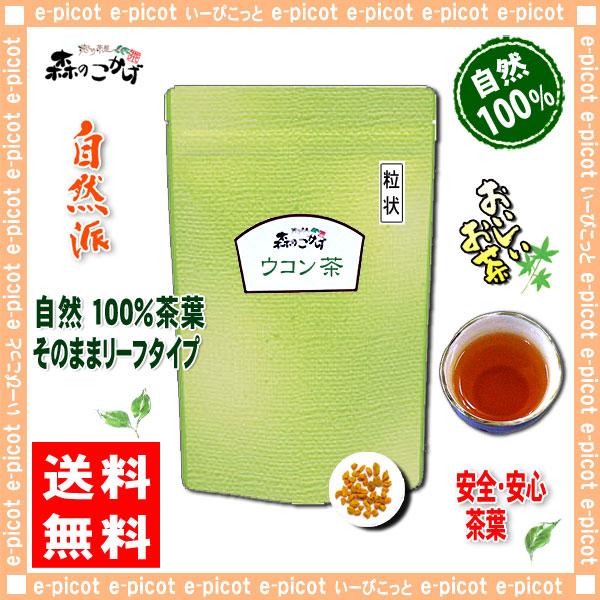 A1【送料無料】 ウコン茶 [刻み] (200g 内容量変更)
