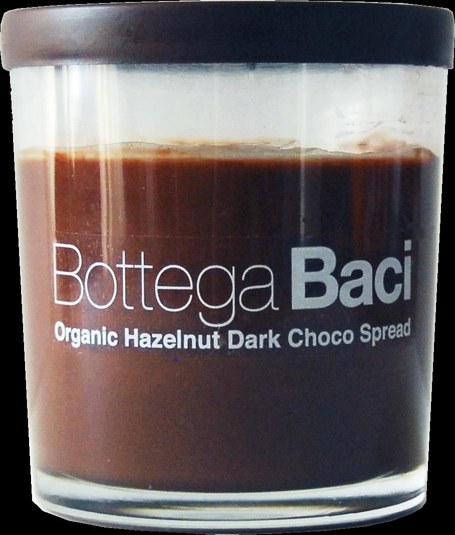 オーガニックヘーゼルナッツダークチョコスプレッド Bottega Baci 200g
