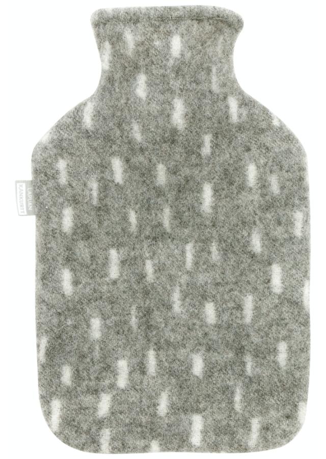 ラプアンカンクリ PYRY ホットウォーターボトル 湯たんぽ グレー