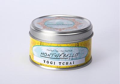 フランス パリの紅茶/ロシアンティー/モンテベロ/MONTEBELLO Paris/ヨギ・チャイ/25g フランス製オリジナル缶
