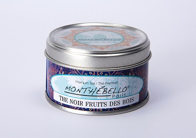 フランス パリの紅茶/フレーバーティー/モンテベロ/MONTEBELLO Paris/フォレストフルーツ/25g フランス製オリジナル缶