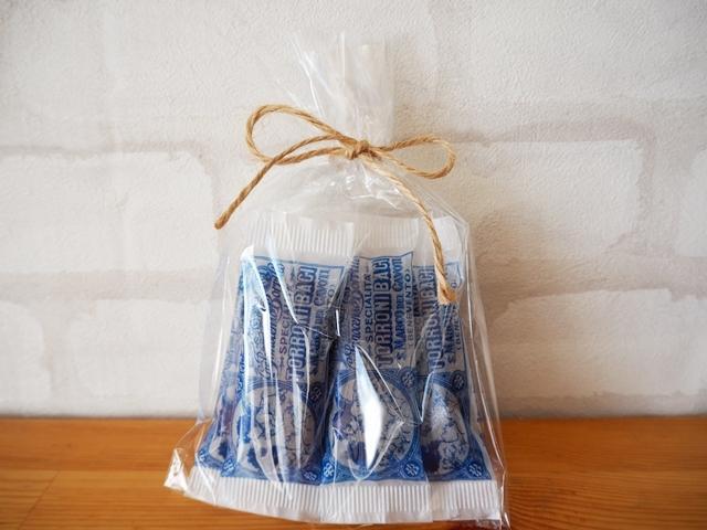 トローニバーチ/TORRONI BACI/イタリアの手作りチョコレートヌガー/5袋入り