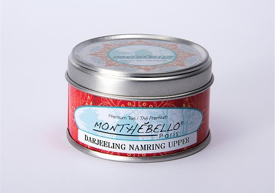 フランス パリの紅茶/ストレートティー/モンテベロ/MONTEBELLO Paris/ダージリン・ナムリン・アッパー/25g フランス製オリジナル缶