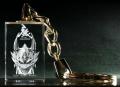 牙狼(GARO)-ガロ-MAKAISENKI 【3Dクリスタルキーホルダー】 [ダンver.]  パチンコ・パチスロキャラクターグッズ通販のPエンタメストア