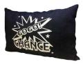 ジャグラー デニムクッション [ネイビー] GOGO!CHANCE GOGO!ランプ マーク クッション パチスロ スロット グッズ 北電子 キャラクター グッズ