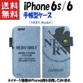 【送料無料】 エヴァンゲリオン新劇場版 iPhone6s iPhone6 対応 ネルフ スマートフォンデニムケース NERV Model 【購入特典付き】