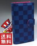 【送料無料】 ジャグラー iQOSケース [ネイビー] 長サイフ型 アイコス ケース iQOS 2.4 Plus 電子タバコ アイコスケース 長財布型 iQOS カバー パチスロ スロット キャラクター グッズ