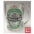 【送料無料】 ジャグラー ビアグラス ビアジョッキ ビールジョッキ ツノっち パチスロ キャラクター グッズ