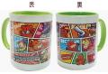 ジャグラー マグカップ Ver.3 [B柄 コミック柄] パチスロ キャラクター グッズ 北電子