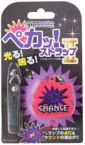 ジャグラー ペカッ!ストラップ 第2弾 ピンク パチスロ スロット キャラクター グッズ 北電子 GOGO!CHANCE GOGOランプマーク