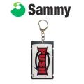 【送料無料】サミー ICカード ケース 第2弾 C柄 初代PUSH パチスロ スロット Sammy キャラクター グッズ