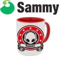 サミー プレミア マグカップ 第2弾 A柄 エイリやん ロゴ パチスロ スロット Sammy キャラクター グッズ