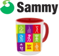 サミー プレミア マグカップ 第2弾 D柄 ドットコレクション パチスロ スロット Sammy キャラクター グッズ