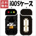 【送料無料】 勝ち勝ちくんLED iQOSケース ブラックVer 設定6奪取 格子柄 アイコス ケース カバー PL KC02