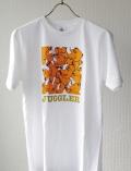ジャグラー Tシャツ [C柄 ツノっちいっぱい] パチスロ キャラクター グッズ 北電子