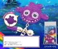 海物語 クジラッキー デコレーションキーホルダー パープル / パチンコ キャラクター グッズ