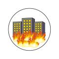 ターゲットシールビル火災