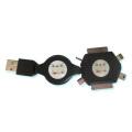 USB充電6Pケーブル