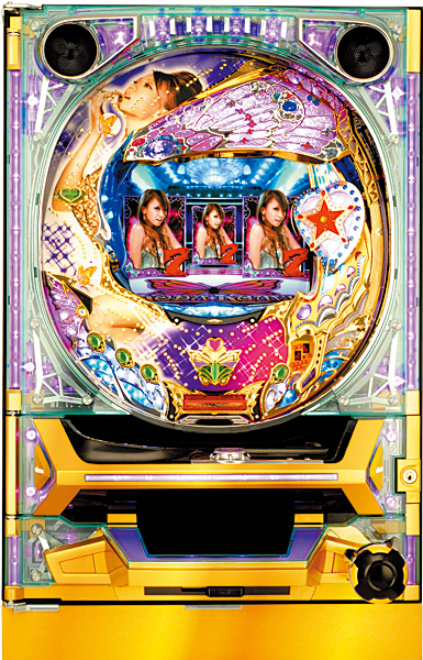 SANKYO CRKODA KUMI FEVER LIVE IN HALLMF-T【1/304】実機【枠色指定不可】