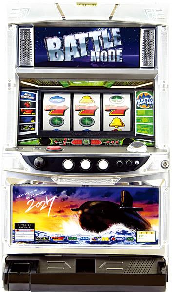 【訳あり】パチスロ実機 JPS 2027 メインパネル(他社製コイン不要機付き・ホッパー・アウトボックス・セレクターなし)