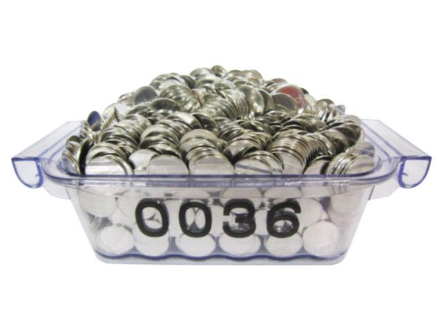 中古コイン1000枚 25パイ ドル箱付き(同一柄)