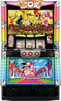 【台数限定特価】パチスロ実機 オリンピア 乙女マスターズ~空を翔る白き軌跡~