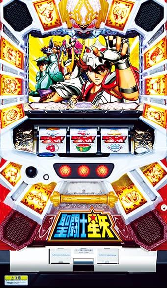 パチスロ実機 三洋 聖闘士星矢-女神聖戦-KD