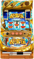 パチスロ実機 大都技研(サボハニ) 秘宝伝Rev./A4