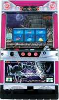 パチスロ実機 サミー パチスロ スパイダーマン3 (ブラックパネル)