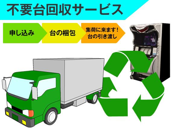 不要台回収サービス