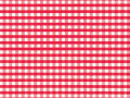 包装紙 ギンガム赤