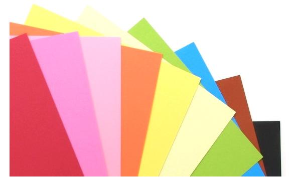 【1枚から販売!】リンテック 色画用紙 ニューカラーR<110 K> 4切 B色(No.200〜300) 1枚