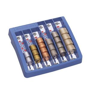 オープン/コインキーパー M-32 コインの整理整頓や、つり銭の保管、売り上げ計算も簡単♪