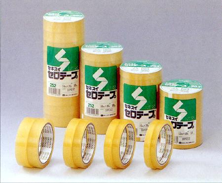 (セキスイ)お徳用10巻パック セロテープNo.252 12mm×35m・・・10巻入