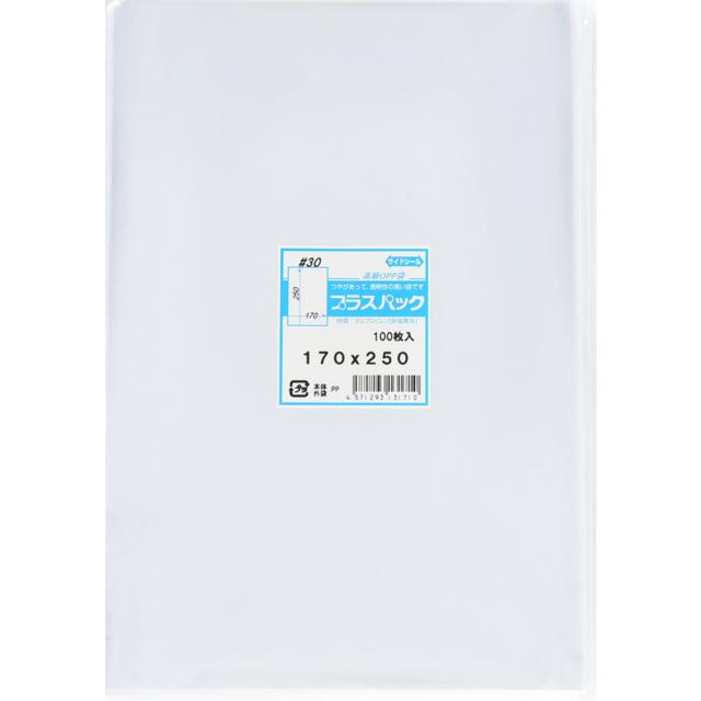 OPP袋 ( 30#x 170x250 ) ( 100枚 ) プラスパック P054