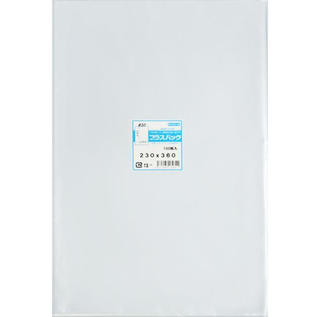 OPP袋 ( 30#x 230x360 ) ( 100枚 ) プラスパック P071