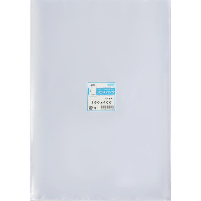 OPP袋 ( 30#x 260x400 ) ( 100枚 ) プラスパック P075