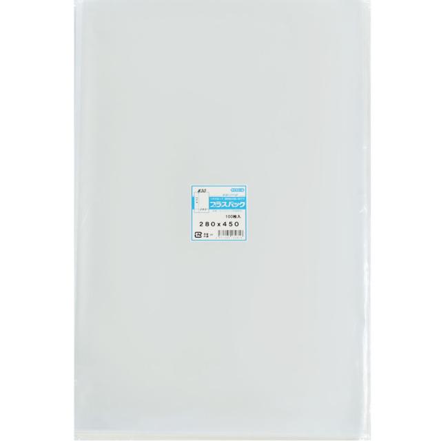 OPP袋 ( 30#x 280x450 ) ( 100枚 ) プラスパック P077