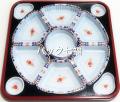 アズミ産業 TO−460有田(紺)透明蓋付(1袋20枚入)1枚当たりの税抜き単価¥280