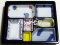 CP化成 U-77萩  W−77−B京焼中仕切付 1袋20枚入 税別単価235円