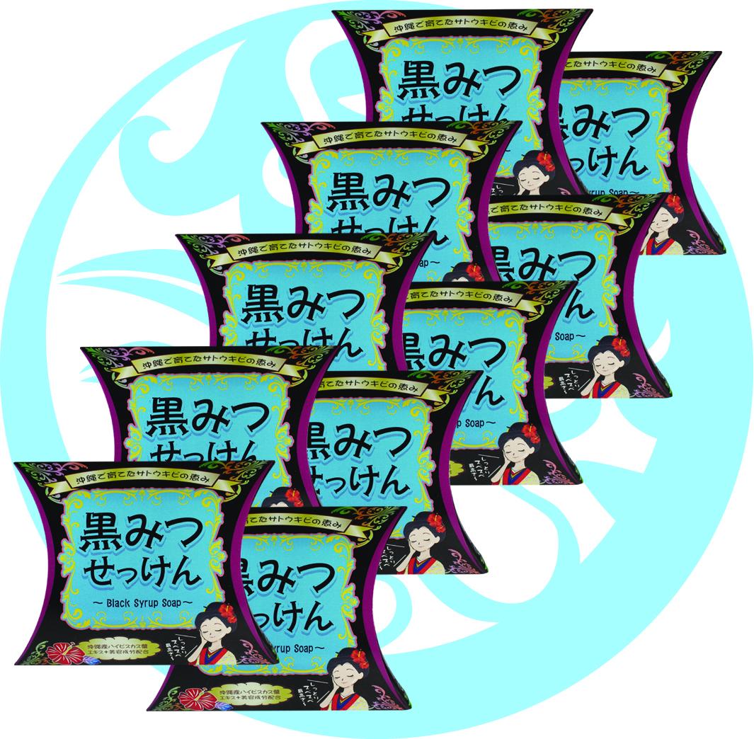 【25%OFF!】 パダーム黒みつせっけん 80g(10個セット)