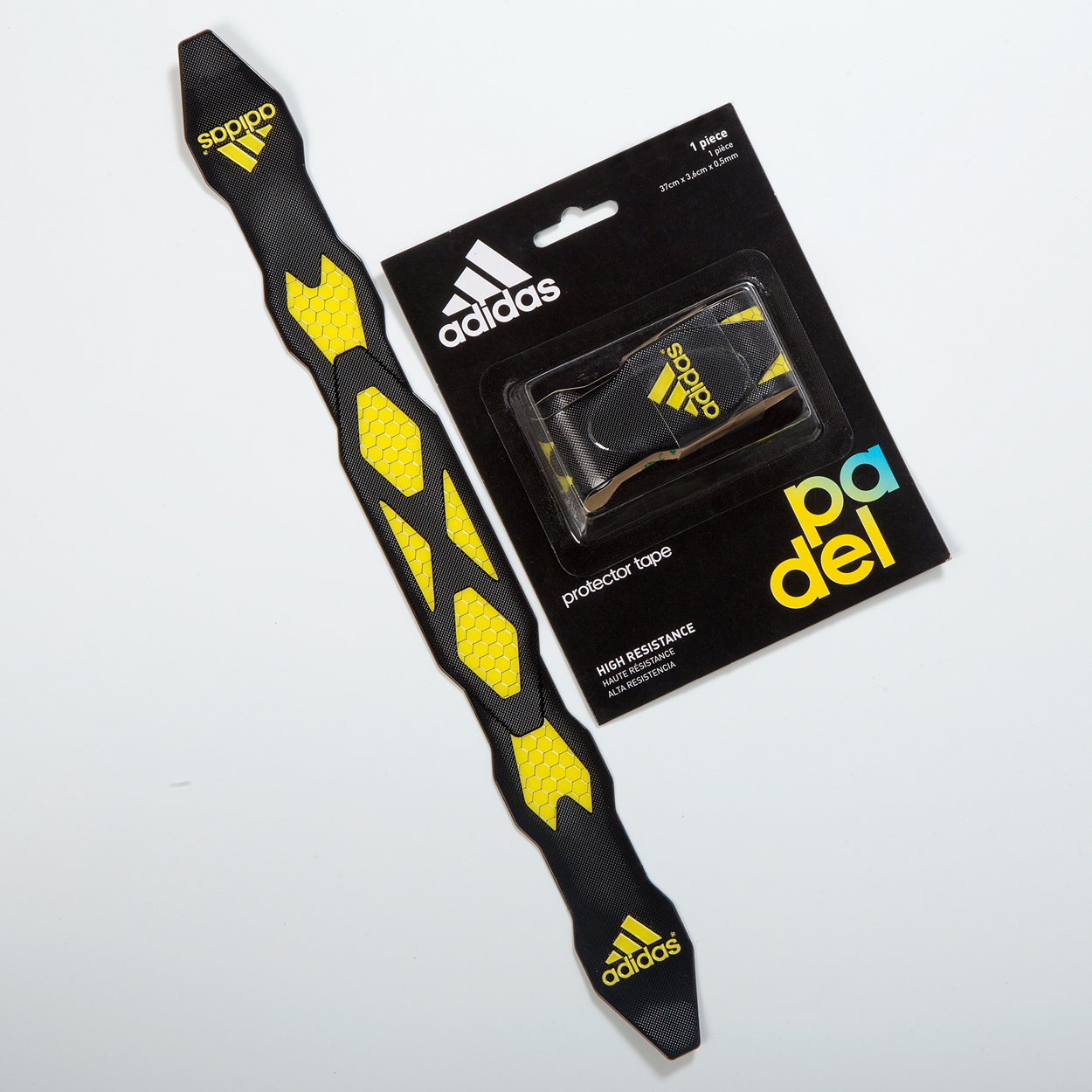 Antishock Protection Tape Black-Yellow