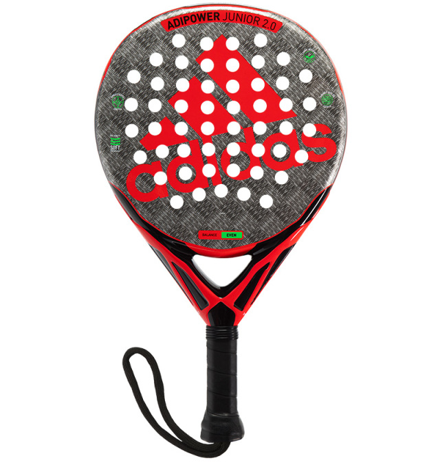 Padel Racket ADIPOWER JUNIOR RED 2.0