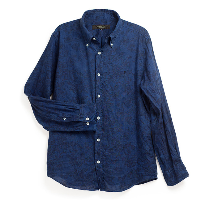 PAIKAJI アロハシャツ藍染め