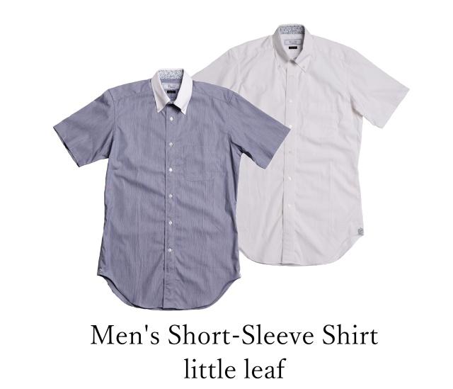 Men's Short-Sleeve Shirt/little leaf