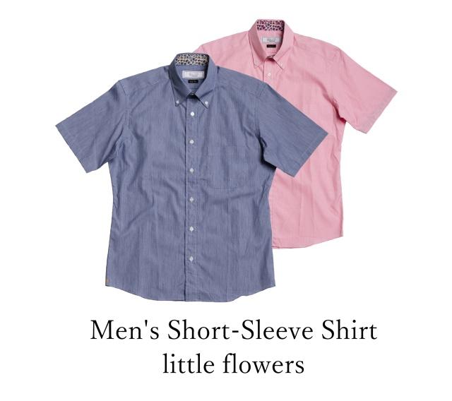 Men's Short-Sleeve Shirt/little flowers